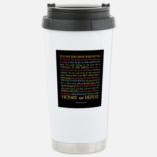 The Critic Stainless Steel Travel Mug