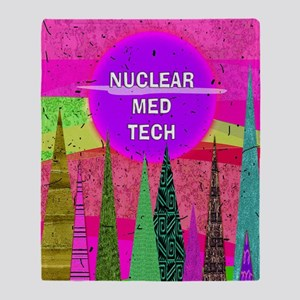 Nuclear Med Tech Throw Blanket