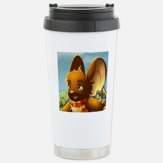 Market mouse button Stainless Steel Travel Mug