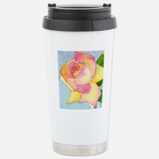 Simply A Rose Stainless Steel Travel Mug