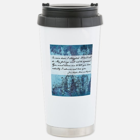 Pride and Prejudice Quo Stainless Steel Travel Mug