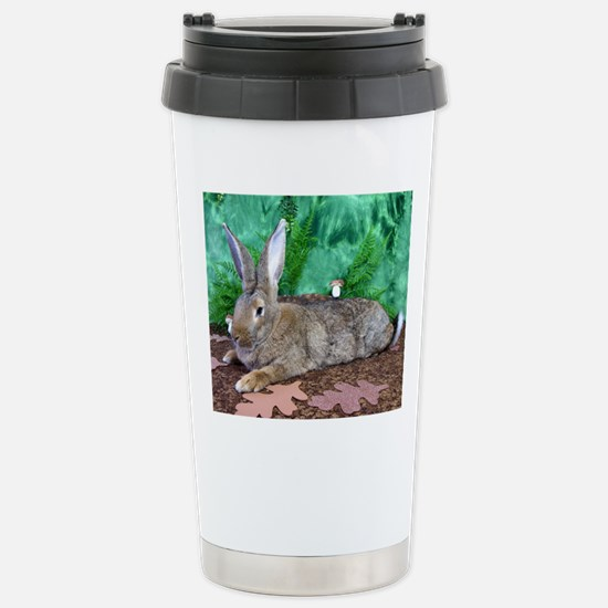 Fezzik in the Woods-2-F Stainless Steel Travel Mug