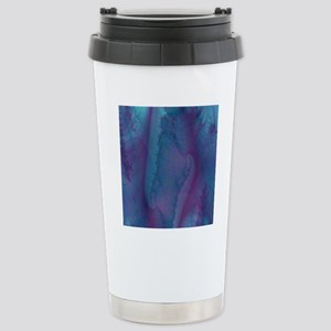 blue and purple shower  Stainless Steel Travel Mug