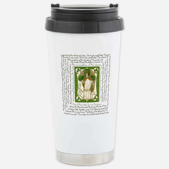 St. Patricks Breastplat Stainless Steel Travel Mug