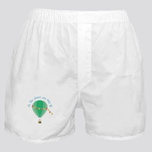 oh, the places you may go Boxer Shorts