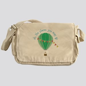 oh, the places you may go Messenger Bag