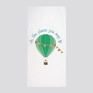 oh, the places you may go Beach Towel