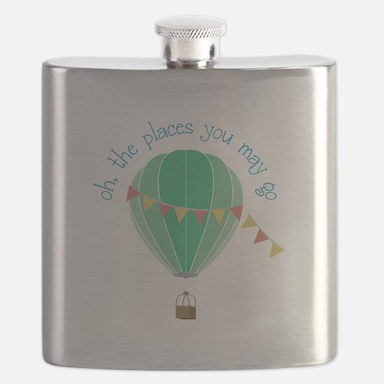 oh, the places you may go Flask