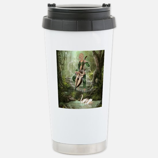 tef_jewelery_case Stainless Steel Travel Mug