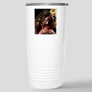 Crazy Zombie Girls Stainless Steel Travel Mug