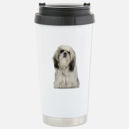 Portrait of Tibetan ter Stainless Steel Travel Mug