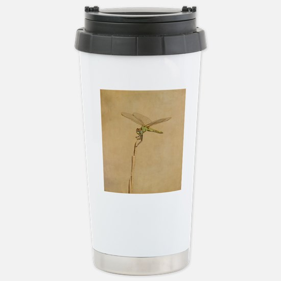 Resting on a beach dune Stainless Steel Travel Mug