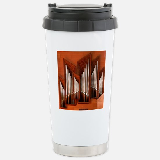 View of right section o Stainless Steel Travel Mug