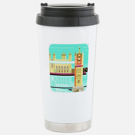 Tower Bridge and the to Stainless Steel Travel Mug