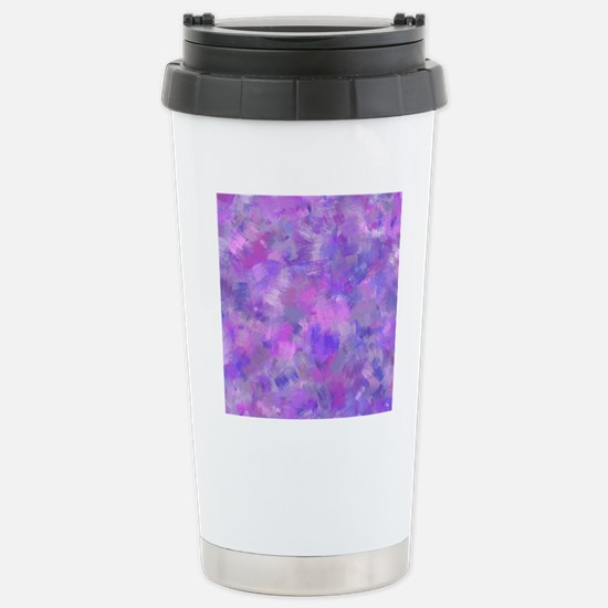 Bold pink, purple and l Stainless Steel Travel Mug