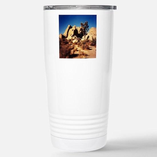 Joshua Tree National Pa Stainless Steel Travel Mug