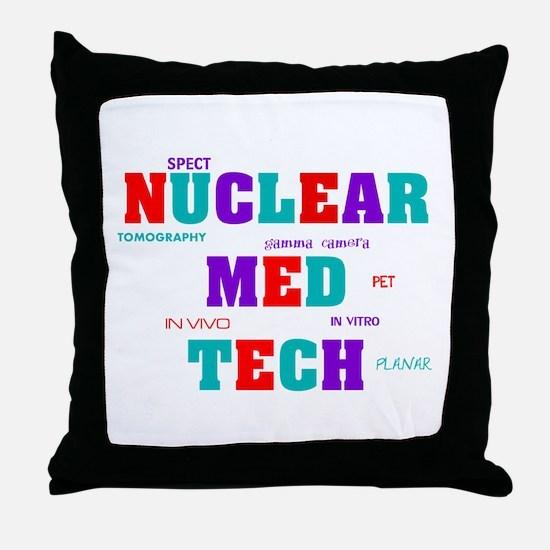 Cute Nuclear Throw Pillow
