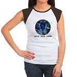 Angelz Mirror Women's Cap Sleeve T-Shirt
