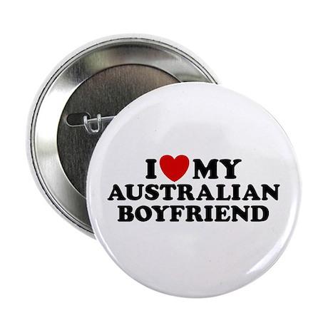 I Love My Australian Boyfriend Button