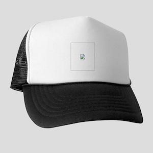 Broken Internet Image Icon Trucker Hat