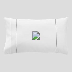 Broken Internet Image Icon Pillow Case