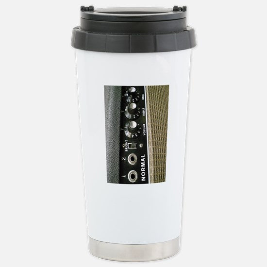 Amplifier Control Panel Stainless Steel Travel Mug