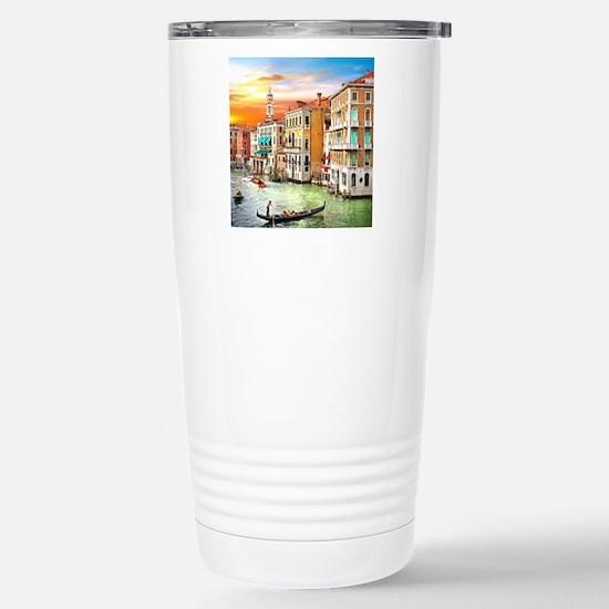 Venice Photo Stainless Steel Travel Mug