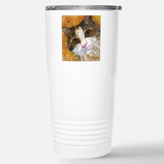 Calico Pie Stainless Steel Travel Mug