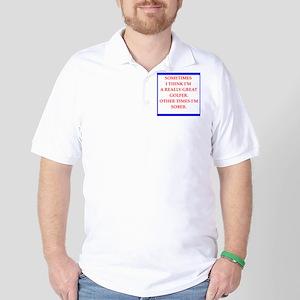 golfer Golf Shirt