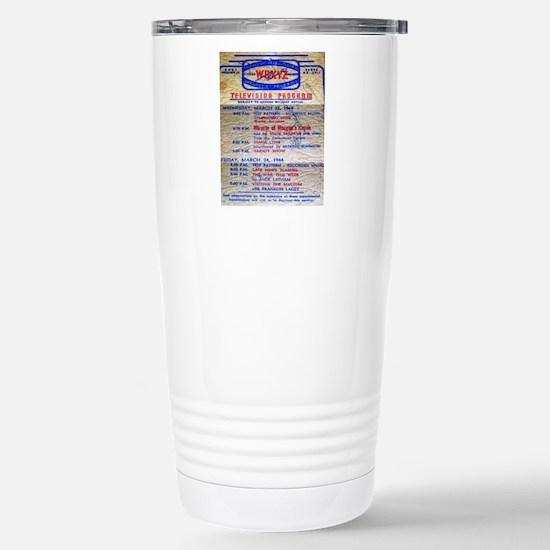w6xyz tv schedule Stainless Steel Travel Mug