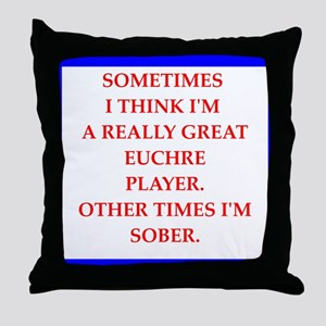 eucjre Throw Pillow