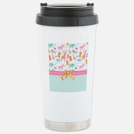 Zoo Life Stainless Steel Travel Mug