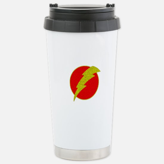 Flash Bolt Superhero Stainless Steel Travel Mug