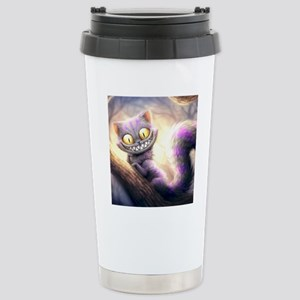 Cheshire Cat Stainless Steel Travel Mug