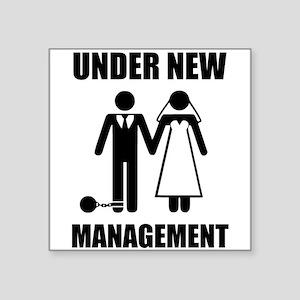 Just Married, Under New Management Sticker