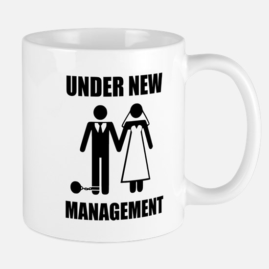 Just Married, Under New Management Mugs