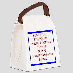 darts Canvas Lunch Bag