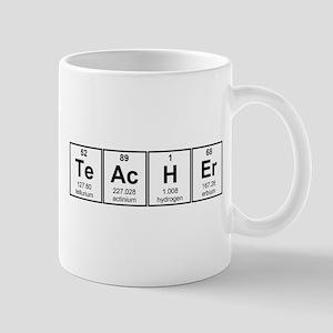 Science Teacher Chemical Elements Mugs