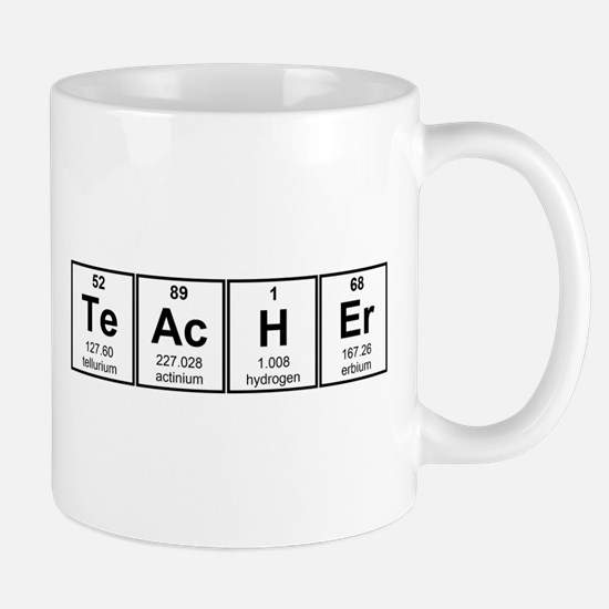 Science Teacher Chemical Elements Mugs