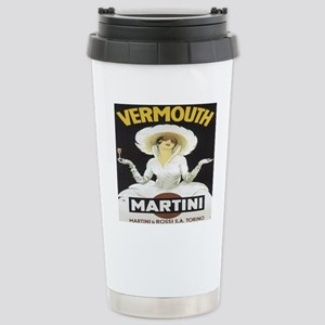 MartiniRossiAll-Over Stainless Steel Travel Mug