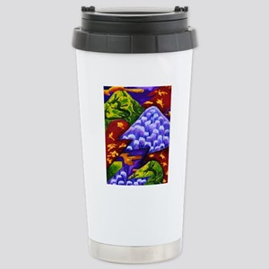 Dragonland - Green Drag Stainless Steel Travel Mug