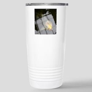 i - spy a window pane Stainless Steel Travel Mug
