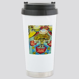 Pinball Wizard Stainless Steel Travel Mug