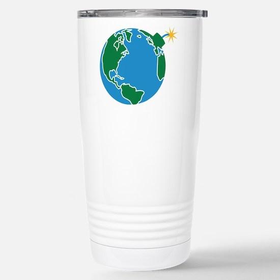 explosive_earth Stainless Steel Travel Mug