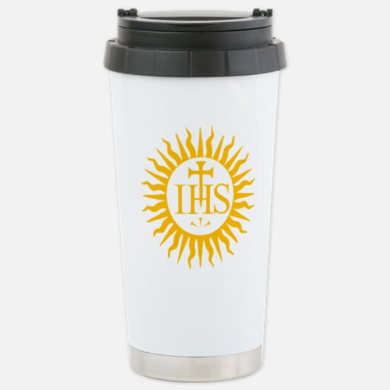 IHS JESUIT SEAL Stainless Steel Travel Mug