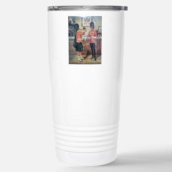 McEwans Ale Poster Stainless Steel Travel Mug