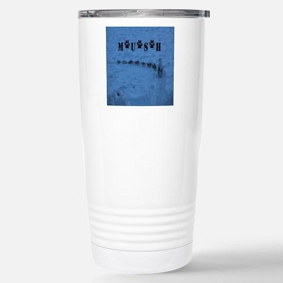 MUSH Messenger Bag Stainless Steel Travel Mug