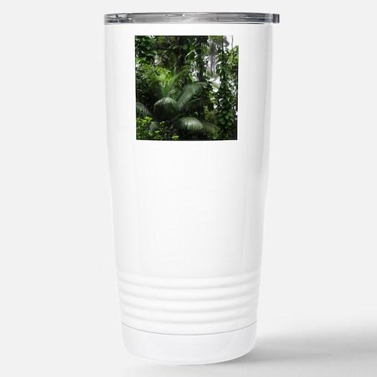 Tropical Rainforest Stainless Steel Travel Mug