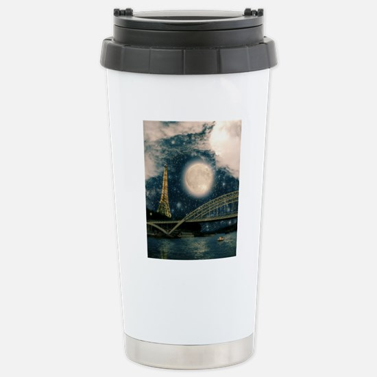 one starry night on par Stainless Steel Travel Mug
