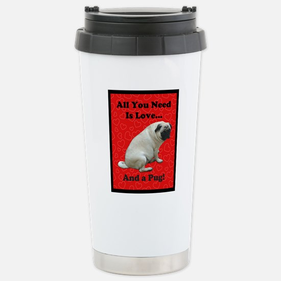 all_you_need_is_love_tw Stainless Steel Travel Mug
